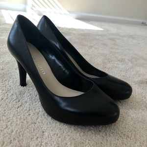 Franco Sarto Black Pump Heel, Size 7